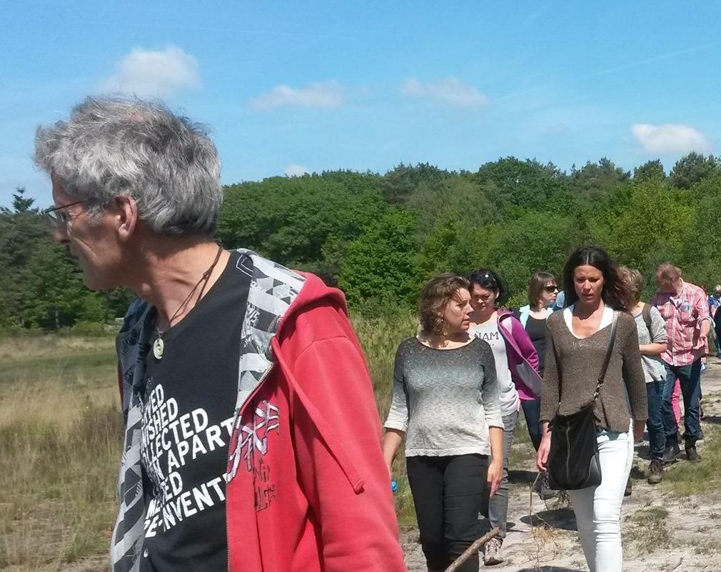 Lifetree.nu: Edgardo de Monte leidt een Tria@walk wandeling
